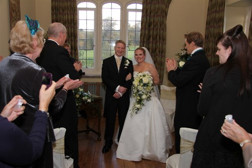 Wedding Photos - Teresa and Rob - Leeds Castle