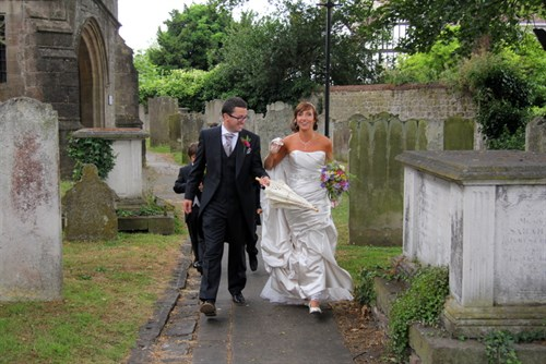 Wedding Photos - Andrea and Chris - The Archbishop's Palace