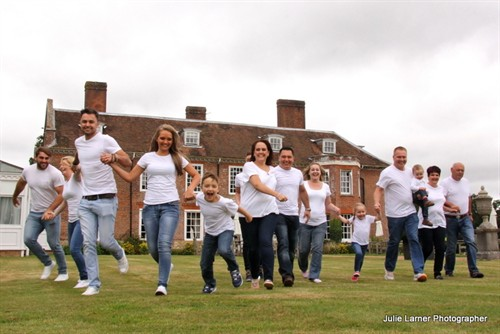 The Bianchina family reunion at Chilston Park